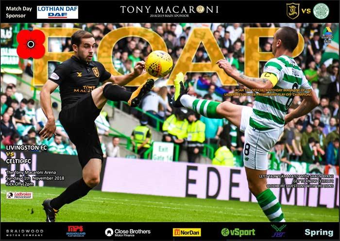 Celtic Programmes Online Livingston 0 Celtic 0 11 11 2018
