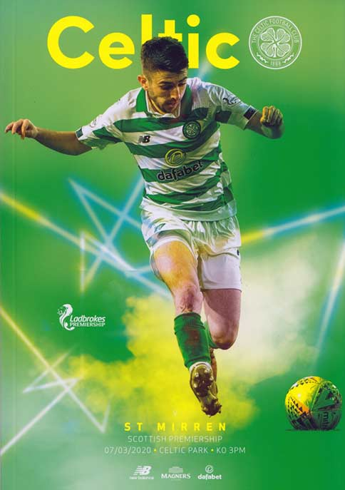 click to see the match programme, ticket and stats